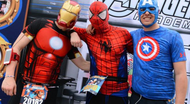 复仇者联盟超级英雄半程马拉松