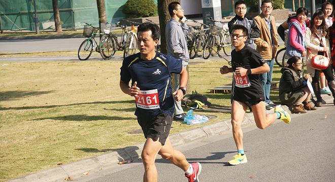复旦大学江湾半程马拉松接力赛