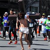 东京马拉松cosplay图