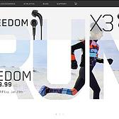 Jaybird  Freedom无线蓝牙运动耳机 | 运动激情   无线畅听