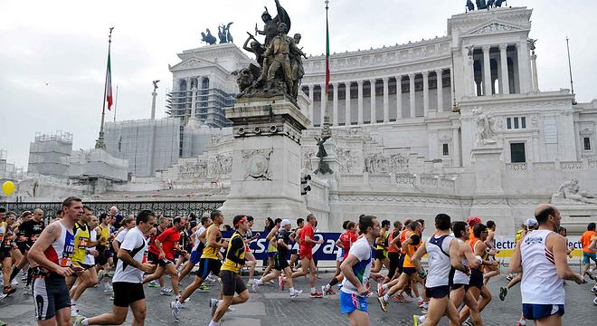 罗马马拉松