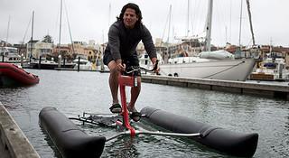 今天下水去骑行—水上自行车SchillerX1诞生记