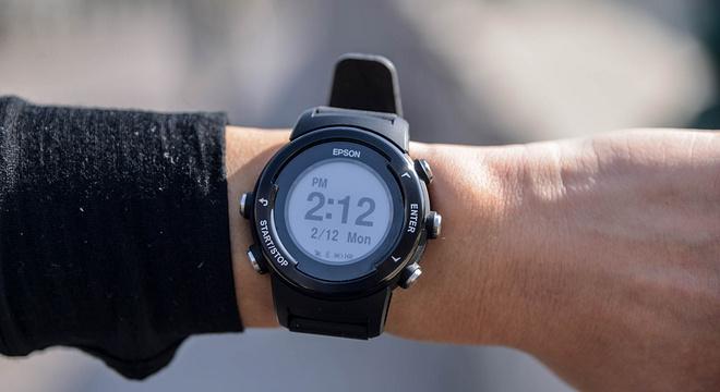 手表   独特的墨水屏 Epson爱普生 ProSense X-100深度评测(一)
