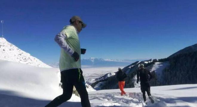 丝绸之路.2017乌鲁木齐冰雪马拉松