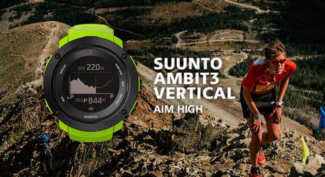 新品 | 没有Ambit4,等来的却是Suunto Ambit3 VERTICAL