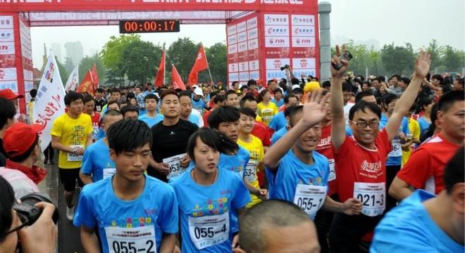 焦作黎明脚步半程马拉松赛