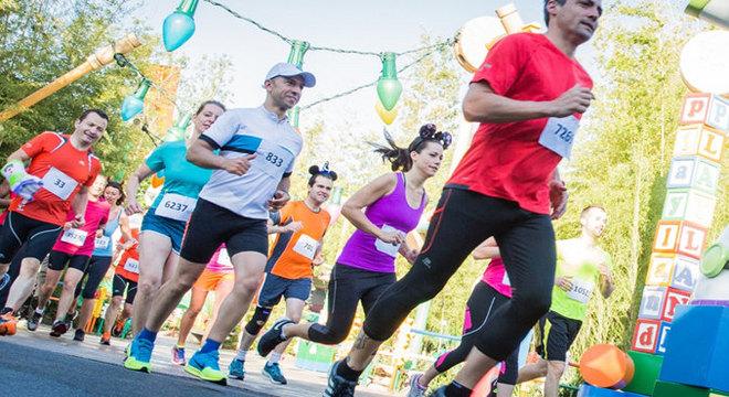 迪士尼巴黎半程马拉松