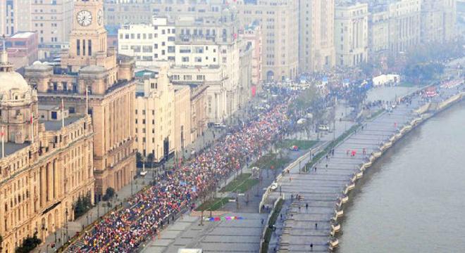 上海国际马拉松赛