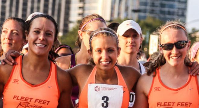 芝加哥女子半程马拉松