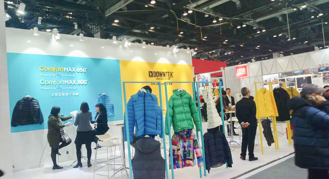 合隆强势来袭发布性能羽绒原料,引爆时尚运动与纺织用品业界新话题!