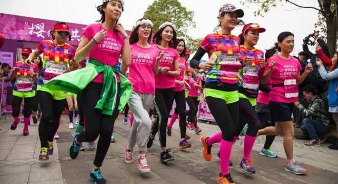 卞卡美妆2017年武汉女子(半程)马拉松