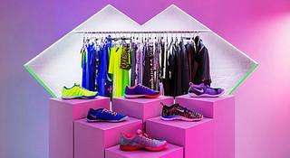 运动女生做主角—Nike 为女生打造Pop-Up 专门店