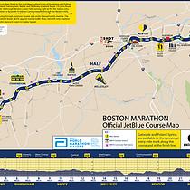 2017第121届波士顿马拉松(Boston Marathon)