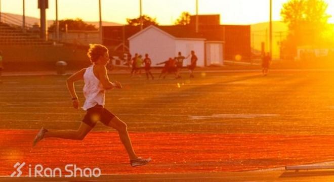 马拉松赛前的速度训练