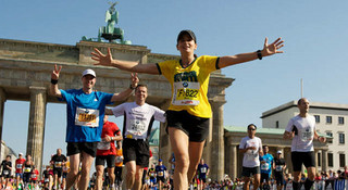 世界最快的马拉松比赛——柏林马拉松