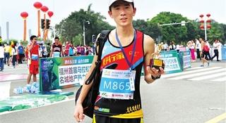 人物 | 4周4全马 三进2:40:中国赏金跑者刘路峰