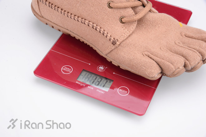 Vibram 五指鞋 重量