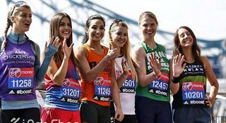 为爱而跑,细数伦敦马拉松的慈善跑手