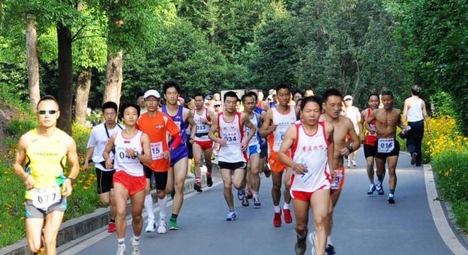 第三届重庆照母山坡地半程马拉松赛