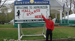 记我的2013波士顿马拉松