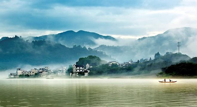 黄山·歙县新安江山水画廊国际马拉松