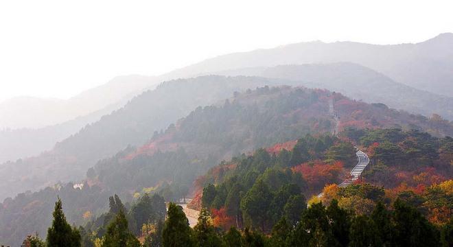 北京第十二届香山登山赛