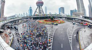 上马 | 2016上海半程马拉松赛 看这一篇就够了