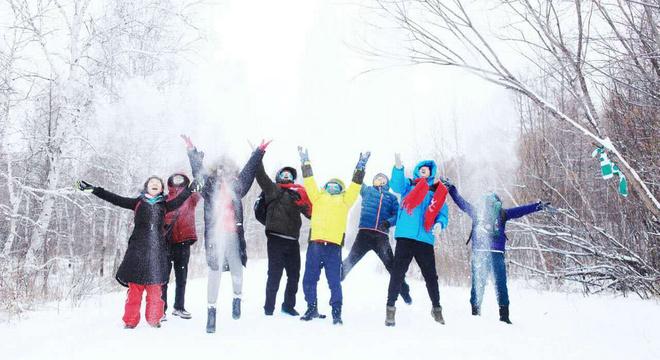 中国冷极圣诞冰雪马拉松