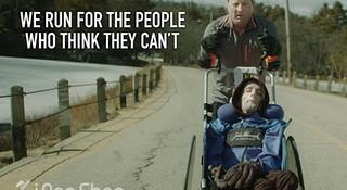 Team Hoyt—传奇父亲推轮椅带儿子征战马拉松赛场30年