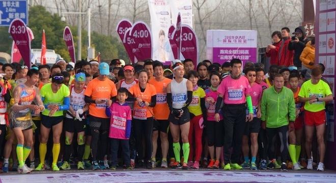 生态大圩国际马拉松赛