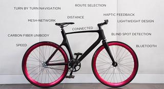 死飞也智能—Vanhawks Valour,具有导航与追踪功能的智能自行车