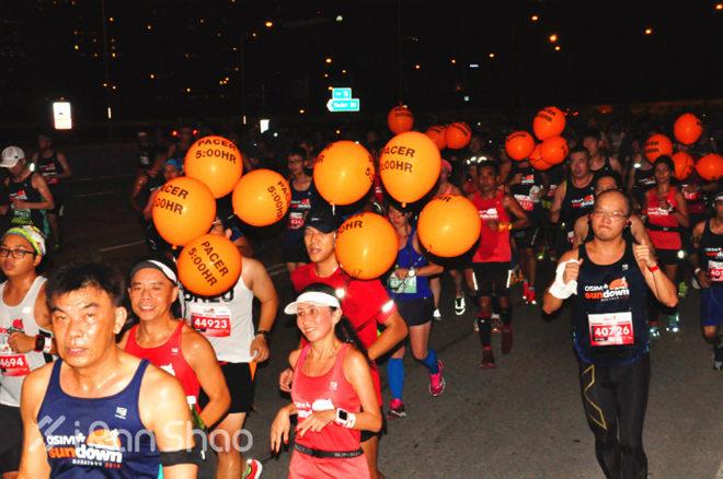 新加坡日落马拉松sundown官方pacer