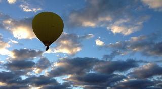 飞翔中的日出—乘坐热气球俯瞰黄金海岸
