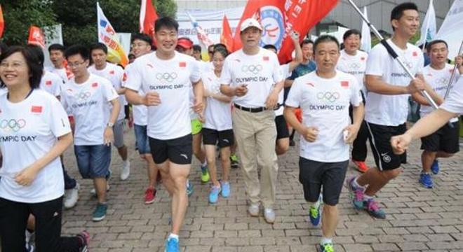 第29届奥林匹克日长跑合肥站