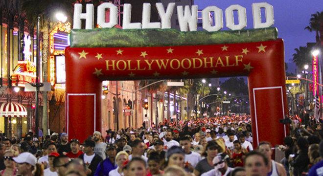 好莱坞半程马拉松