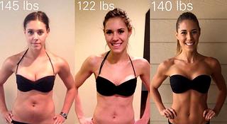 瘦身 | 体重增加16斤是噩梦?她却练出比基尼身材