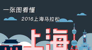独家 | 十月的约会 一张图看懂2016上海马拉松