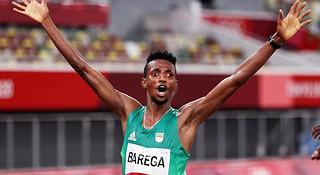 奥运万米冠军重回埃塞俄比亚