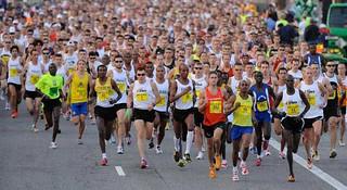 跑步新手如何秒杀马拉松比赛