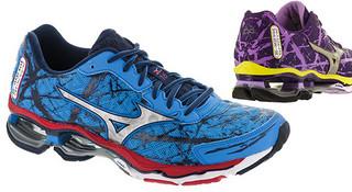 奔跑的水墨画—美津浓Mizuno Wave Creation 16支撑跑鞋