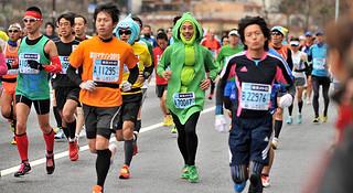 直通东京 | 和他们一起见证2015东京马拉松
