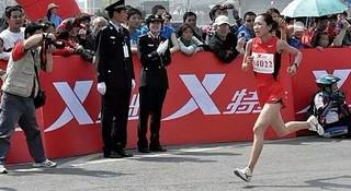 人物 | 兰马国内第一何引丽:全运会冠军队员的十年马拉松历程
