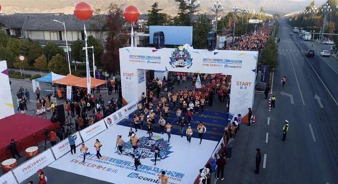 热点 | 一年级生丽江马拉松的全程首秀