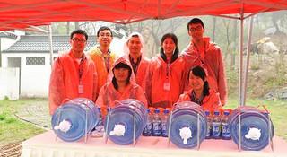 橙色风采—南京山地马拉松志愿者记