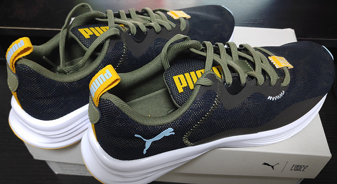 PUMA Hybrid Fuego x First Mile: 自然亲肤得不像一双跑鞋