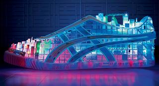将城市装进你的跑鞋—ASICS Onitsuka Tiger 3D打印电子彩灯鞋