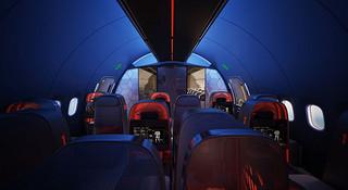 空中大本营—Nike的运动团队专用机舱