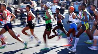 跑步潮流引领经济增长