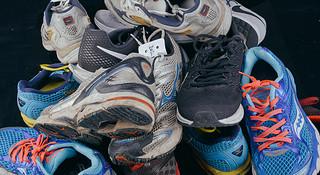 科普 | 这些跑过500+公里的鞋最后都变成了这样