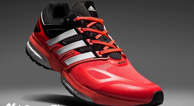 新款速递 阿迪达斯Adidas Response Boost慢跑鞋